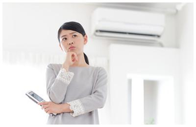 エアコンが冷風・温風が出ない